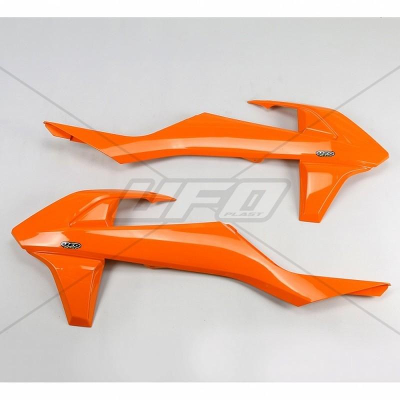 COPPIA FIANCHETTI RADIATORE UFO COME ORIGINALI PER KTM SX/SX-F 2016/2017 (NO MINICROSSO, NO SX 250 2016)