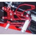 ADJUSTABLE REAR SETS 4-RACING FOR YAMAHA R1 2007/2008 (standard shifting)