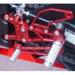 ADJUSTABLE REAR SETS 4-RACING FOR YAMAHA R1 2007/2008 (standard shifting)