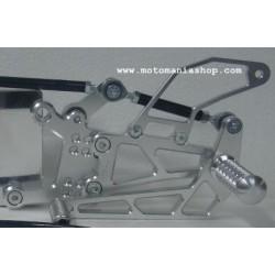 4-RACING EINSTELLBARE HINTERE SETS FÜR YAMAHA R1 2007/2008 (Standardgetriebe)