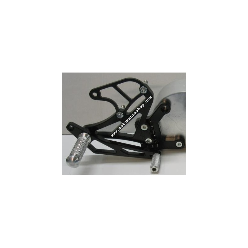 ADJUSTABLE REAR SETS WITH ETERNAL 4-RACING ROD FOR YAMAHA R1 2004/2006 (standard and reverse shifting)