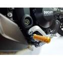 COPPIA POGGIAPIEDI 4-RACING CON ATTACCHI PER PEDANE ORIGINALI BMW S 1000 RR 2015/2018