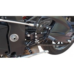 ADJUSTABLE REAR SETS 4-RACING FOR BMW S 1000 R 2014/2020 (standard and reverse shifting)