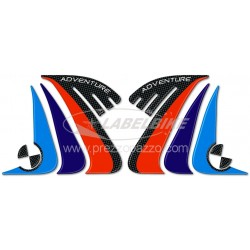 3D STICKERS TANK SIDE PROTECTIONS FOR BMW R 1200 GS ADVENTURE 2014/2018