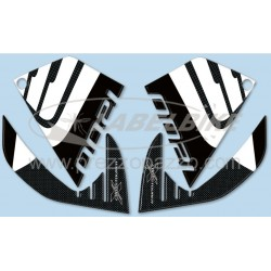 3D STICKERS TANK SIDE PROTECTIONS FOR HONDA CROSSTOURER 1200 2012/2020