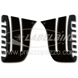 3D STICKERS TANK SIDE PROTECTIONS FOR HONDA VARADERO 1000 1999/2011