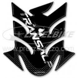 ADESIVO PARASERBATOIO 3D PROTEZIONE SERBATOIO PER HONDA TRANSALP XL 700 V 2008/2013