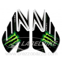 3D STICKERS TANK SIDE PROTECTIONS FOR KAWASAKI Z 800