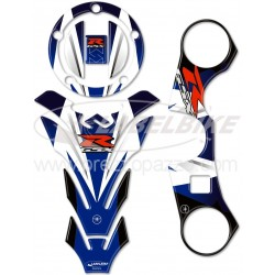 3D STICKERS TANK PROTECTION, CAP, STEERING PLATE FOR SUZUKI GSX-R 600/750 2006/2015