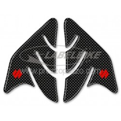 3D STICKERS TANK SIDE PROTECTION FOR SUZUKI GSX-R CARBON