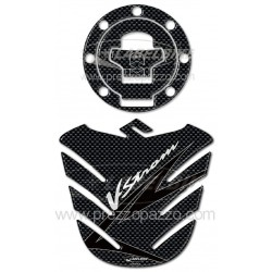 3D STICKERS TANK PROTECTION AND TANK CAP FOR SUZUKI V-STROM 2002/2011