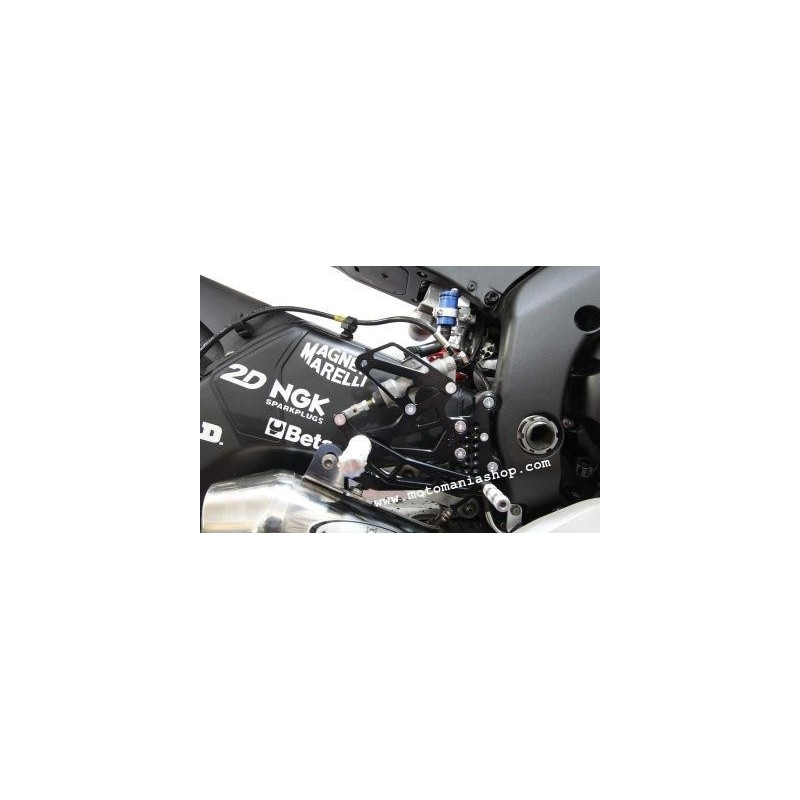 ADJUSTABLE REAR SETS 4-RACING FOR YAMAHA R6 2006/2016 (standard and reverse shifting)