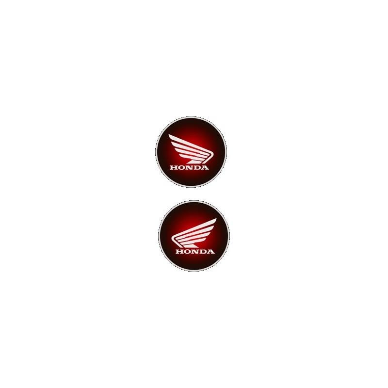 COPPIA ADESIVI STEMMA HONDA 3D mm 60 2pz - € 7.43