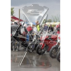 3D ADHESIVE TANK PROTECTION FOR MV AGUSTA F3 TRANSPARENT