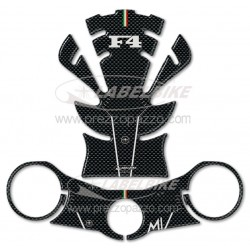 3D STICKERS TANK PROTECTION, STEERING PLATE FOR MV AGUSTA F4 UNTIL 2009