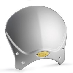 UNIVERSAL WINDSCREEN GIVI CAFE RACE IN ALUMINUM COLOR GRAY