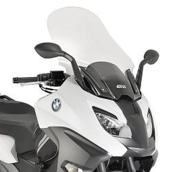 PARABREZZA GIVI PER BMW C 600 SPORT 2016/2018, TRASPARENTE
