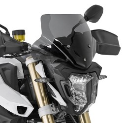 GIVI CUPOLINO FOR BMW F 800 R 2015/2019, SMOKING'