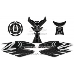 3D STICKERS SIDE PROTECTION, TANK, CAP, KEY KAWASAKI Z 650