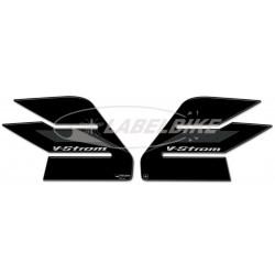 ADESIVI 3D PROTEZIONI LATERALI SERBATOIO PER SUZUKI V-STROM 650 2017/2018