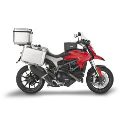 GIVI ALUMINIUM SRA7403 BRACKETS FOR FIXING MONOKEY TRUNK FOR DUCATI HYPERSTRADA 939 2016