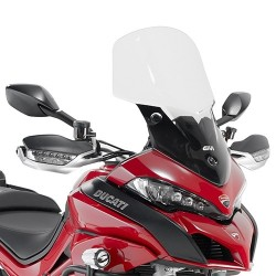 WINDSHIELD GIVI FOR DUCATI MULTISTRADA 1200/S 2015/2017, TRANSPARENT