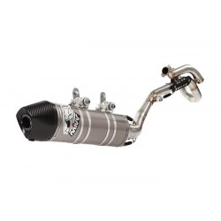 MIVV COMPLETE EXHAUST SYSTEM WITH STAINLESS STEEL TERMINAL FOR HUSQVARNA TE 250 2011*