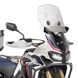 SLIDING WINDSHIELD GIVI FOR HONDA AFRICA TWIN 1000 2016/2019, TRANSPARENT