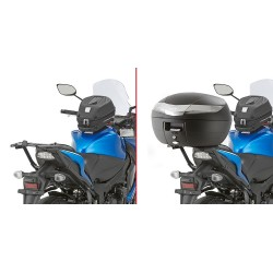 BRACKETS GIVI 3110FZ FOR FIXING MONOKEY TRUNK AND MONOLOCK FOR SUZUKI GSX-S 1000 2015/2019, GSX-S 1000 F 2015/2019