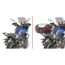 BRACKETS GIVI 2130FZ FOR FIXING MONOKEY TRUNK AND MONOLOCK FOR YAMAHA TRACER 700 2016/2019
