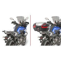 GIVI 2130FZ BRACKETS FOR FIXING THE MONOKEY AND MONOLOCK CASE FOR YAMAHA TRACER 700 2016/2019