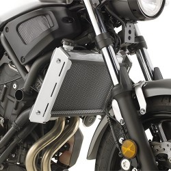 GIVI RADIATOR PROTECTION IN STAINLESS STEEL FOR YAMAHA XSR 700 2016/2020, BLACK COLOR