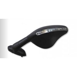 PAIR OF FAR REAR-VIEW MIRRORS FOR DUCATI 1299 PANIGALE 2015/2017, BLACK COLOR APPROVED