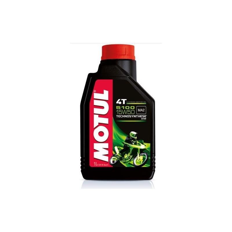 MOTUL 5100 15W50 LUBRICANT OIL FOR 4 STROKE ENGINES
