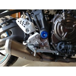 KIT TAPPI PERNO TELAIO FORCELLONE 4-RACING PER YAMAHA MT-07 2014/2018, TRACER 700 2016/2018