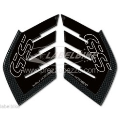 3D STICKERS TANK SIDE PROTECTIONS FOR BMW R 1200 GS ADVENTURE 2006/2013 CARBON