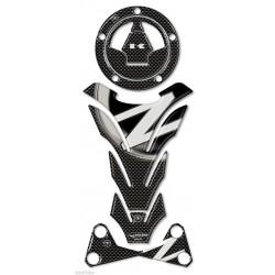 3D STICKERS TANK PROTECTION, CAP, HANDLEBAR RISER FOR KAWASAKI Z 750/1000 2007/2011