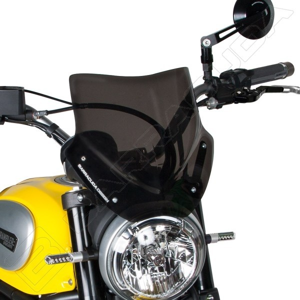 Cupolino Barracuda Aerosport Per Ducati Scrambler Icon 800 20152018