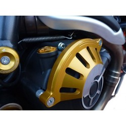 CLUTCH COVER PROTECTION 4-RACING FOR DUCATI SCRAMBLER FLAT TRACK PRO 800 2016