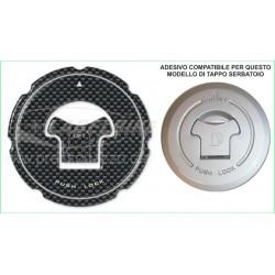 3D ADHESIVE TANK CAP PROTECTION FOR HONDA CARBON LOOK