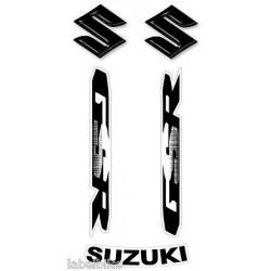 3D STICKERS WRITTEN LOGOS FOR SUZUKI GSR 600