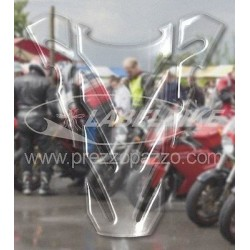 3D STICKER TANK PROTECTION FOR DUCATI MONSTER TRANSPARENT