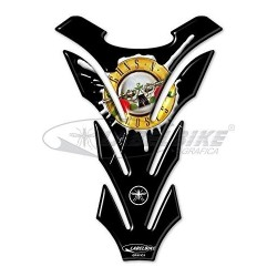 3D STICKER MOTOGUN 'SN ROSES TANK PROTECTION