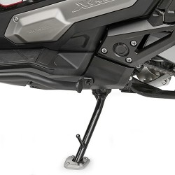 GIVI ALUMINUM BASE WITH INCREASED SURFACE FOR ORIGINAL HONDA STAND X-ADV 750 2017/2020