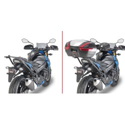 GIVI 3113FZ BRACKETS FOR FIXING THE MONOKEY AND MONOLOCK CASE FOR SUZUKI GSX-S 750 2017/2019