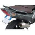ADESIVO 3D PROTEZIONE MANIGLIE PASSEGGERO PER YAMAHA T-MAX 500 2008/2011 NERO