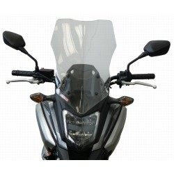 WINDSCREEN FABBRI TOURING FOR HONDA NC 750 X 2016/2020, TRANSPARENT