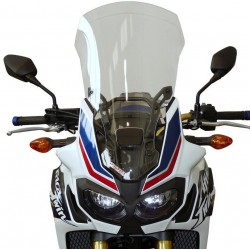 WINDSCREEN FABBRI TOURING FOR HONDA AFRICA TWIN 1000 2016/2017, TRANSPARENT