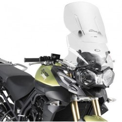 GIVI SLIDING WINDSHIELD FOR TRIUMPH TIGER 800 XR 2015/2017, TRANSPARENT