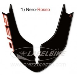 3D STICKER FRONT FENDER PROTECTION FOR YAMAHA T-MAX 530 2015/2016 BLACK RED